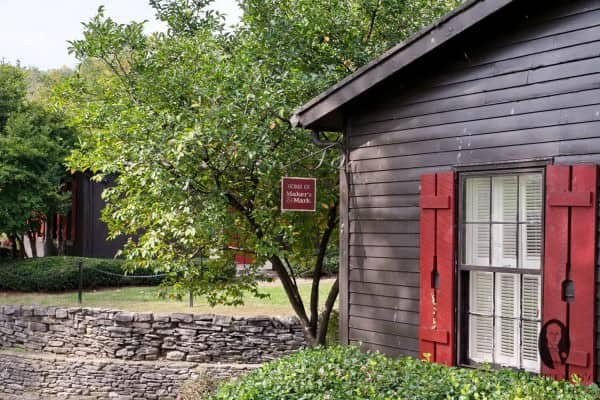 Very idyllic setup and a historic landmark at Maker's Mark in Loretto, Kentucky