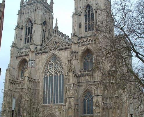 West end of York Minster, York, England