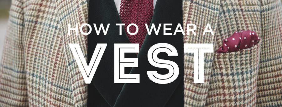 How To Wear a Men's Odd Vest or Waistcoat