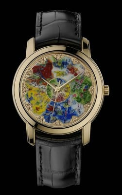 Artistry meets wristwatches