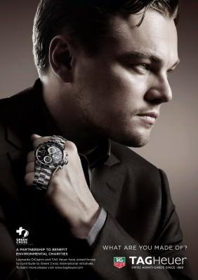 Celebrity Ambassador - Leonardo DiCaprio for Tag Heuer