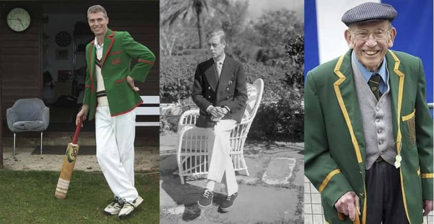 Cricket Blazer, Duke of Windsor in Navy Blazer & Regatta Blazer in green