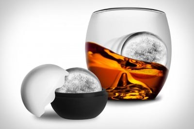Ice Balls look very elegant in a glass