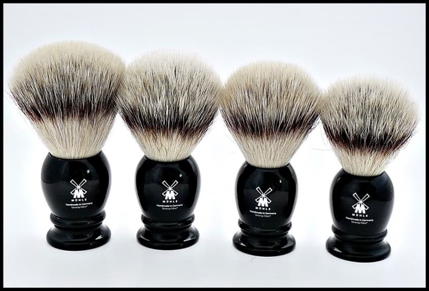 Mühle Silvertip 2.0 Synthetic Shaving Brushes