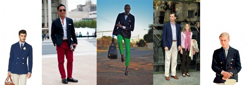 Navy Blazer in all kinds of shades and styles