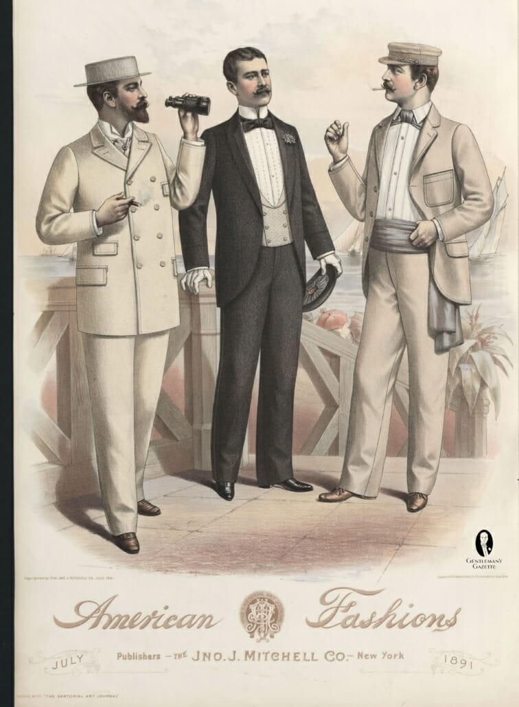 The Victorian Cummerbund