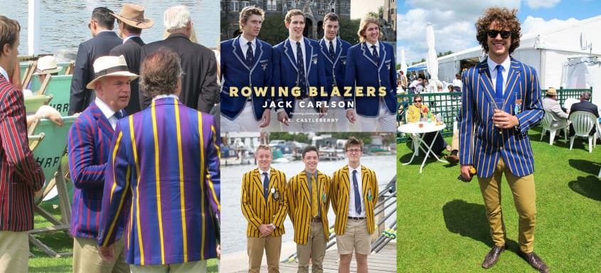 Rowing Blazers at Henley Royal Regatta, England