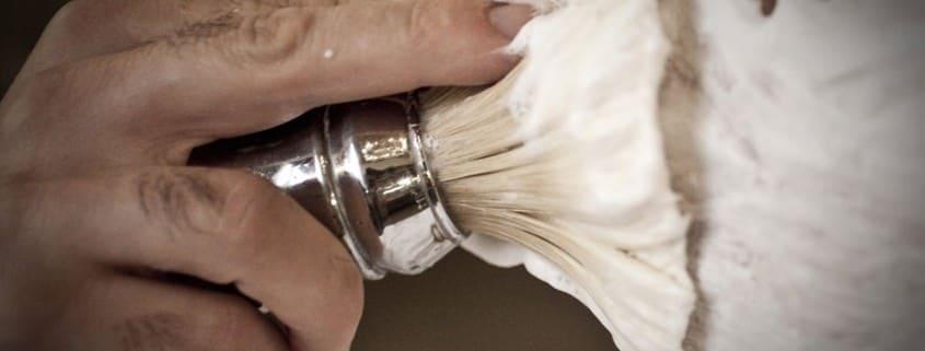 Shaving Brush in Action