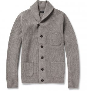 Simple J. Crew Shawl Collar Cardigan