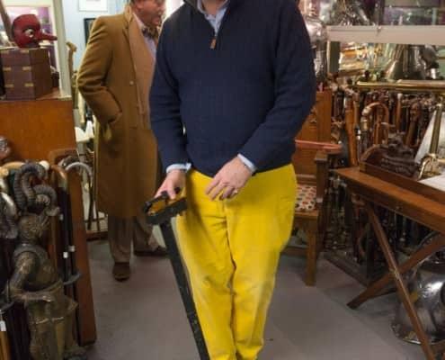 A Victorian cane case