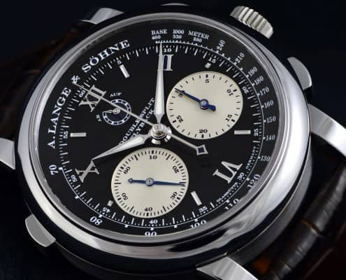A. Lange Söhne Double Split Chronograph