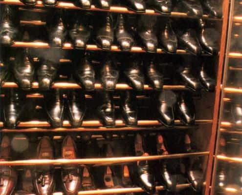 Baron de Rédé Shoe Closet