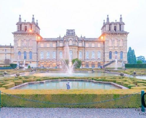 Blenheim Palace from the Garden