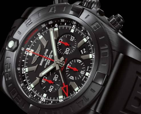 Breitling Chrono GMT Black Steel