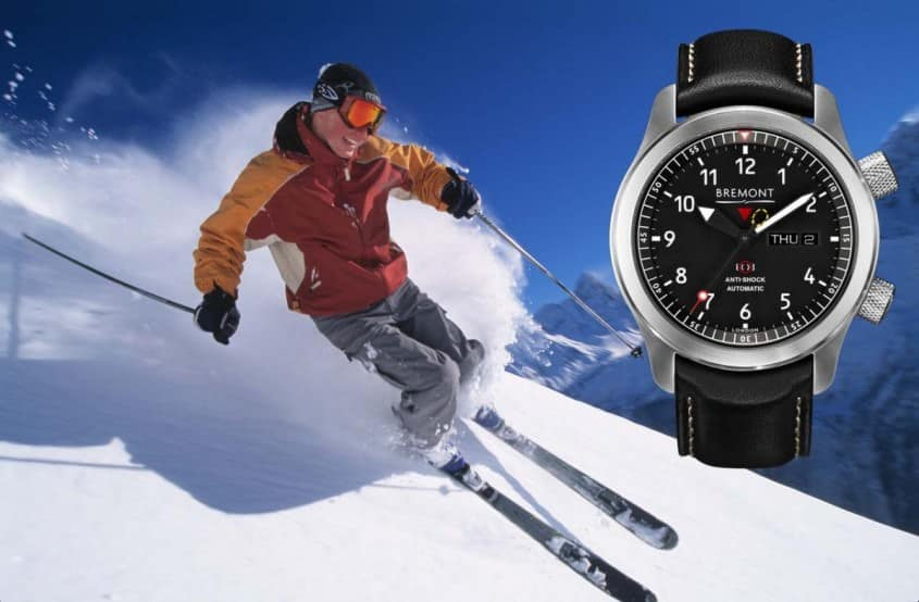 Bremont MII ideal for skiing