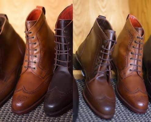 Dalton Boot from Allen Edmonds in Cordovan leather