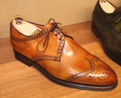 Derby half brogue from Bucharest