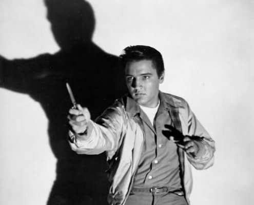 Elvis Presley in a Harrington Jacket