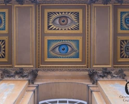 Eyes of The Duke &Duchess of Marlborough added in 1928