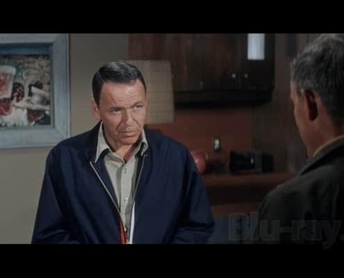 Frank Sinatra in navy Harrington Jacket