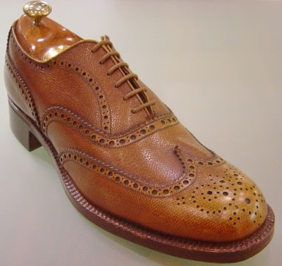 Full brogue by Grenson