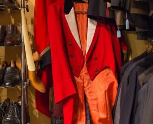 Hunting tailcoat in pink
