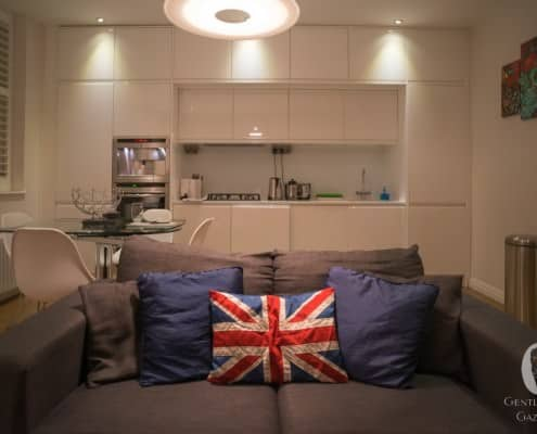 London Connection Living Room, Dining Room and Kitchen