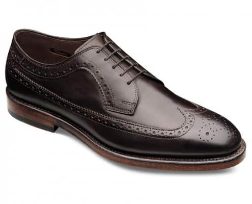 Longwing Brogue Model Williams in dark brown by Allen Edmonds