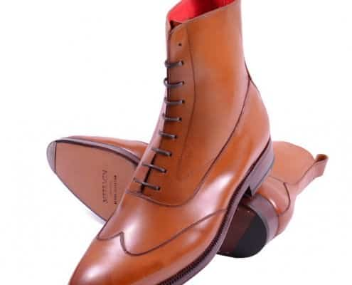 Meermin Austerity Brogue - Made in China with red lining at a high quality standard