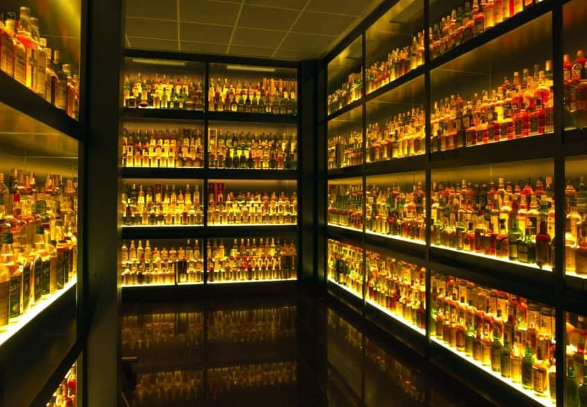 More than enough - The Scotch Whisky Experience in Edinburgh