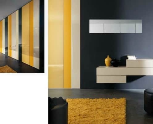 Multi Color Lago Wardrobe N.O.W - Not Only White
