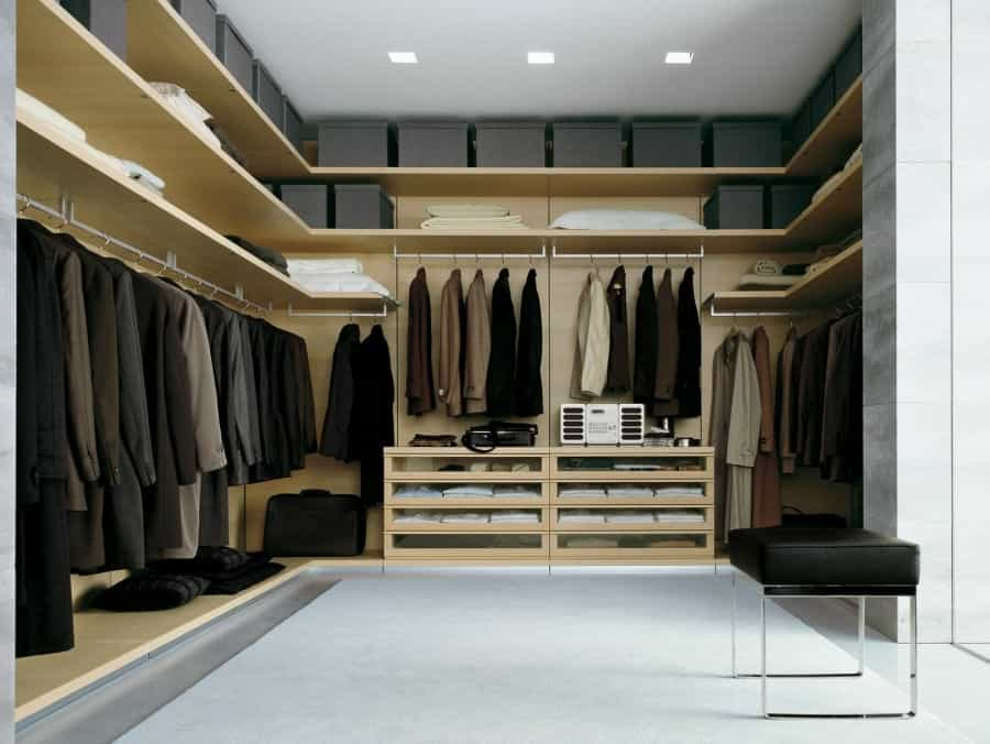 Walk In Closet Wardrobe Systems Guide