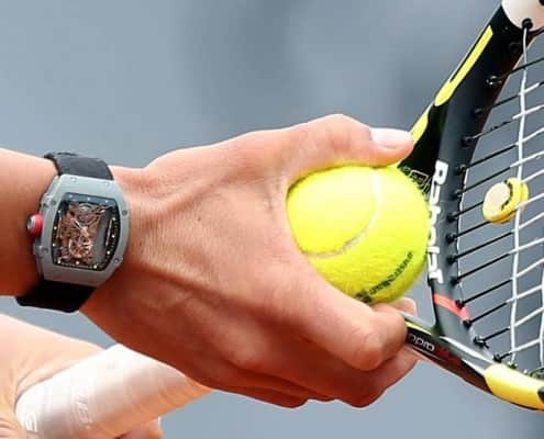 Richard Mille RM-27-01 watch worn by Rafael Nadal