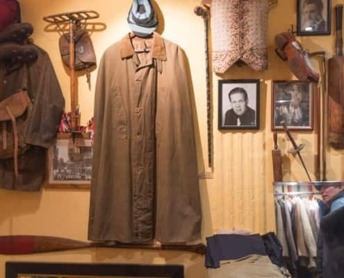 Supposedly the first Barbour coat