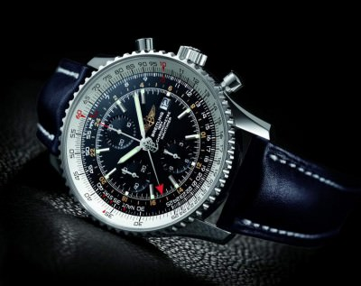 The Breitling Navitimer World Watch