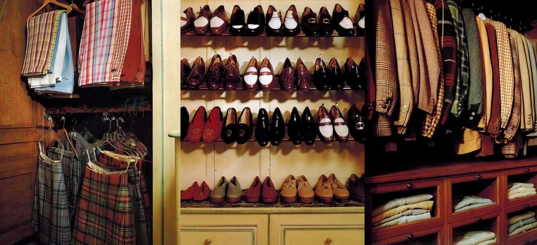 Marvelous The Duke Of Windsoru0027s Closet   Slacks U0026 Kilts, Shoes On Racks, Jackets On