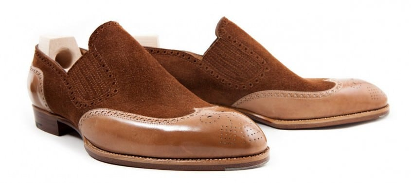 brogue single women There's no 'strictly speaking' when talking brogues and the shoe forms they take today, brogues come as oxford or derby shoes, boots, loafers and even monk shoes, both single or double strap.
