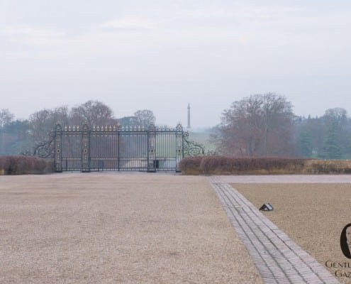 View from the courtyard at Blenheim Palace