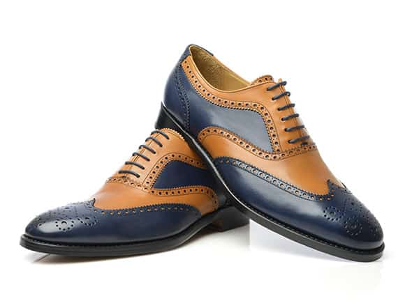 70ec212af49d Wingtip toe cap with broguing only on the edges and without Medallion are  called blind brogues. Spectator shoes are full brogues or wingtips in two  ...