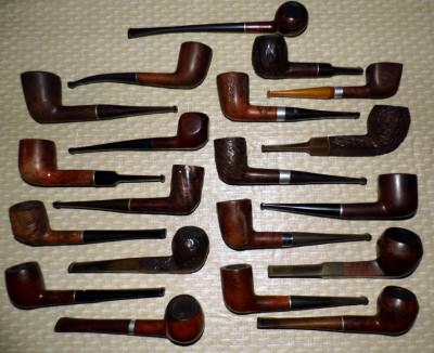 Assortment of Estate Pipes