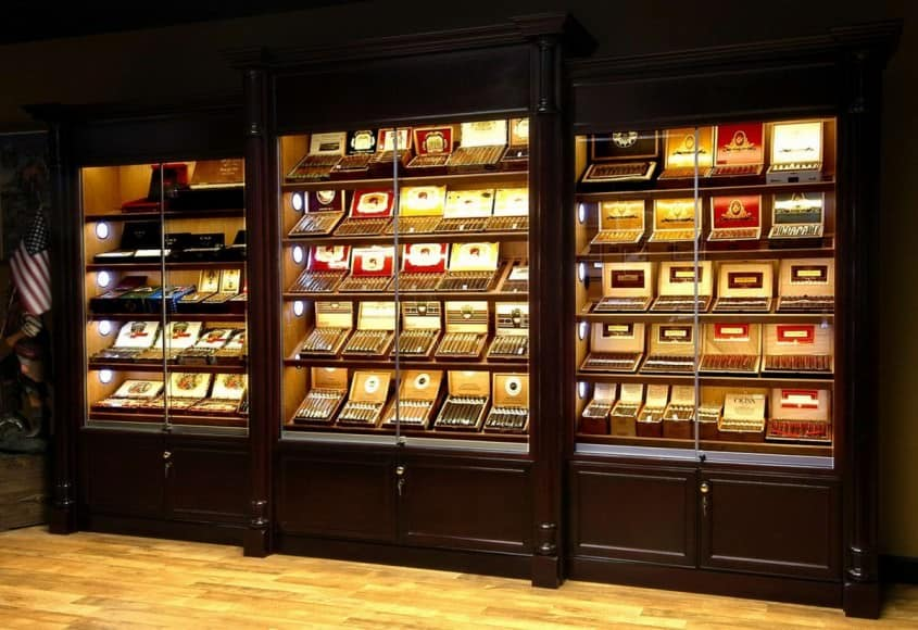 At the Tobacconist