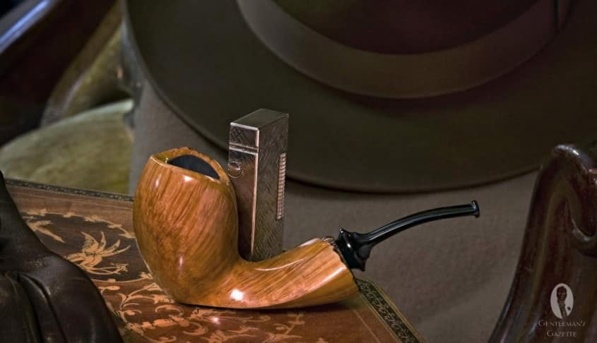 Beautiful Custom Pipe by Steve Morrisette
