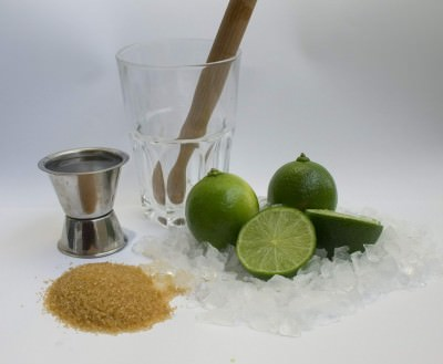 Caipirinha ingredients