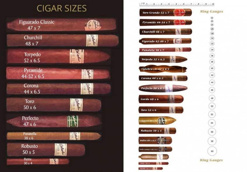Cigar Sizes Explained