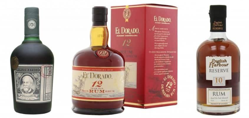 Diplomatico, El Dorado & English Harbor Rums
