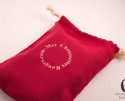 Mes Chaussettes Rouges sock bag