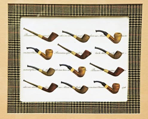 Vintage Pipe Drawings courtesy Uptown's