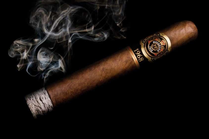 Evenly Lit Cigar