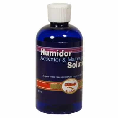 Humidor Activator Solution