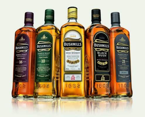 Irish Whiskeys by Bushmills